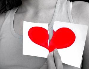 Esos corazones rotos...